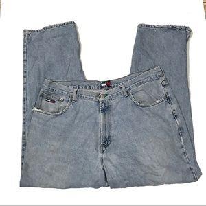 Vintage Tommy Hilfiger Baggy Jeans High Rise